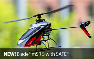 New Blade mSR S with Safe Heli Single Rotor SAFE Helicopter