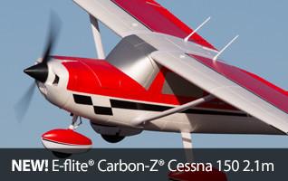 E-flite Carbon-Z Cessna BNF PNP 150 2.1m