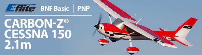 E-flite Carbon-Z Cessna 150 2.1m Aerobat Scale RC Airplane