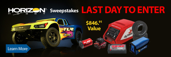Enter to win a TLR 22SCT 3.0 Race Package