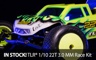 TLR Team Losi Racing 22T 3.0 Race Stadium Truck Kit MM Mid Motor