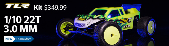 TLR Team Losi Racing 22T 3.0 Mid Motor MM Race Truck Kit TLR03011