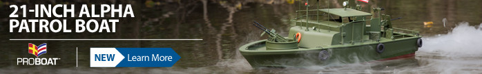 Pro Boat Alpha Patrol 21-Inch RTR Scale Model PT