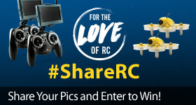 Enter for your chance to win a Blane inductrix FPV Ready-to-Fly! #ShareRC Tag your RC Moments and Share the Love!