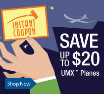 Save Up To $20 Instantly on Select UMX Planes