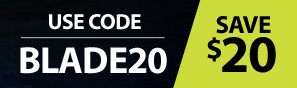 Instantly save $20 with code BLADE20