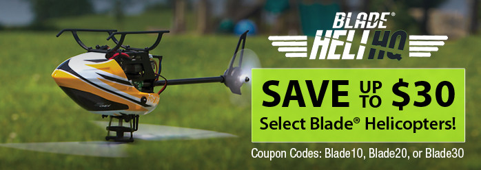 Save up to $30 on select Blade helicopters