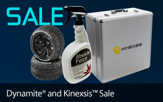 Save off select Dynamite Tires and Kinexis Accessories thru January 31!