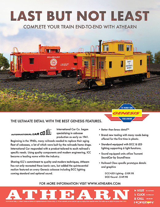 Last But Not Least, Athearn Cabooses