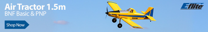 E-flite Air Tractor 1.5m BNF Basic with AS3X and SAFE Select