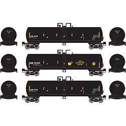 Athearn 13702 N 20,000-Gallon GS Tank Alaska Railroad (3)