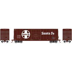 Athearn 1465 N 50' Smooth High Cube Plug Door Box, SF #151654 ATH1465