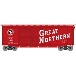 Athearn 16042 HO 40' Double Door Box Great Northern GN #3601