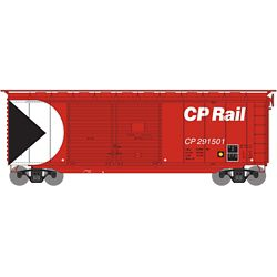 Athearn 16046 HO 40' Double Door Box Canadian Pacific CPR #291501