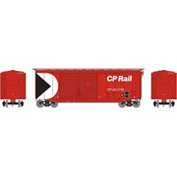 Athearn 16047 HO 40' Double Door Box Canadian Pacific CPR #291778