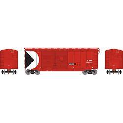 Athearn 16051 HO 40' Double Door Box E&N #292095