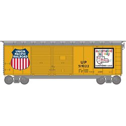 Athearn 16065 HO 40' Double Door Box Union Pacific UP/Map #519122