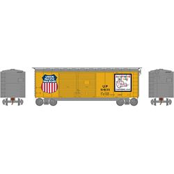 Athearn 16067 HO 40' Double Door Box Union Pacific UP/Map #519135