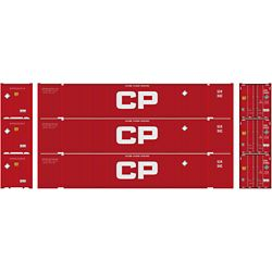 Athearn 17762 N 53' Jindo Container Canadian Pacific CPR (3)