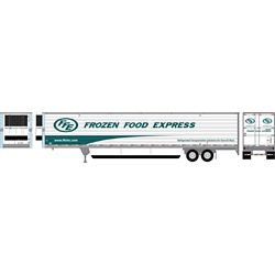 Athearn 17980 HO 53' Reefer Trailer Frozen Food Express #765041