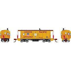 Athearn 23247 N Bay Window Caboose UP/Steam Train #24567