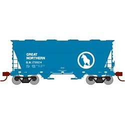 Athearn 23343 N ACF 2970 Covered Hopper Great Northern GN #173824