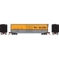 Athearn 2350 N 50' PS-1 Single Door Box Denver & Rio Grande Western D&RGW #60502