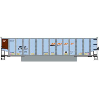Athearn 25022 N Bethgon Coalporter w/Load, BNSF/Wedge #4 (5)