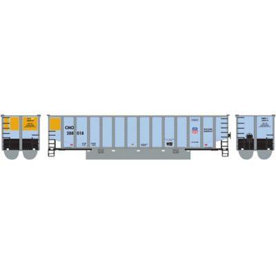 Athearn 25052 N Bethgon Coalporter w/Load, UP/CMO #1 (5)