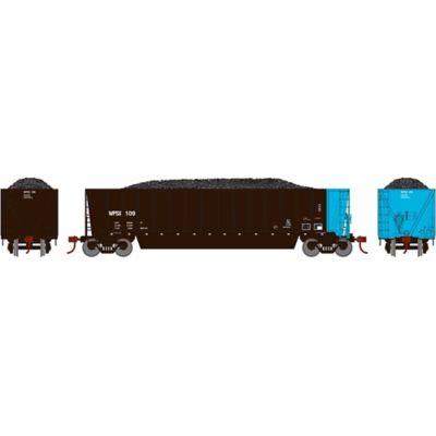 Athearn 29620 HO RTR Bathtub Gondola w/Load, WPSX #109