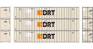 HO RTR 53' Stoughton Container