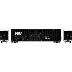 Athearn 75164 HO 60' Berwick Hi-Cube Box Norfolk & Western #604531