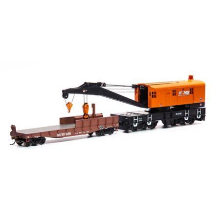 Athearn 75418 HO RTR 200-Ton Crane w/Tender NS/ #92545 ATH75418