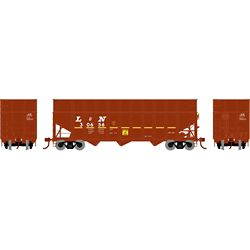 Athearn 76570 HO 40' Wood Chip Hopper w/Load Louisville & Nashville #30656