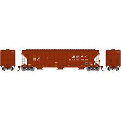 Athearn 81504 HO FMC 4700 Covered Hopper BNSF/Scale #979047