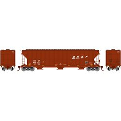 Athearn 81505 HO FMC 4700 Covered Hopper BNSF/Wedge #430327