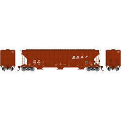Athearn 81506 HO FMC 4700 Covered Hopper BNSF/Wedge #432696