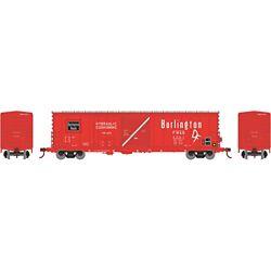 Athearn 89325 HO RTR 50' Combo Door Box, FW&D #5001 ATH89325