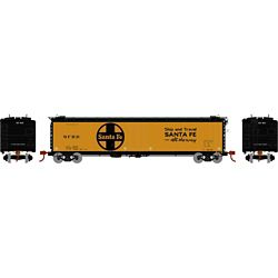 Athearn 97933 HO 50' Ice Bunker Reefer Santa Fe/Large Logo No Number