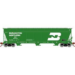 Athearn 12916 N ACF 4600 3-Bay Centerflow Hopper Burlington Northern BN #481201