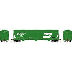 Athearn 12917 N ACF 4600 3-Bay Centerflow Hopper Burlington Northern BN #481242