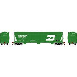 Athearn 12918 N ACF 4600 3-Bay Centerflow Hopper Burlington Northern BN #481265