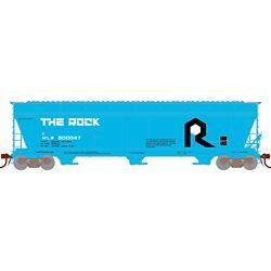 Athearn 12927 N ACF 4600 3-Bay Centerflow Hopper MILW/Ex-Rock #800047