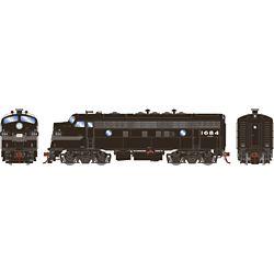 Athearn G19341 HO F7A Penn Central/Freight #1684