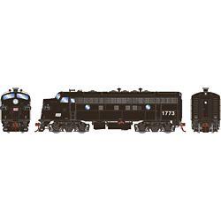 Athearn G19342 HO F7A Penn Central/Freight #1773