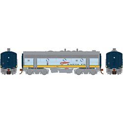 Athearn G19347 HO F7B Santa Fe/Dual Service #345A