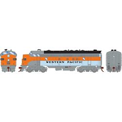 Athearn G19524 HO FP7A w/DCC & Sound Western Pacific WP #805-D