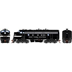 Athearn G19538 HO F7A w/DCC & Sound New York Central/Freight #1772