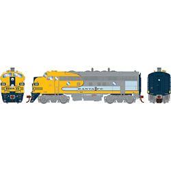 Athearn G19546 HO F7A w/DCC & Sound Santa Fe/Dual Service #326L