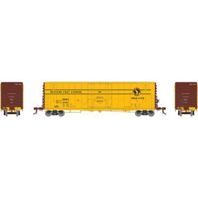 """Athearn G26772 HO 50' PC&F Welded Box w/10'6"""" Door, RBWX #64557"""